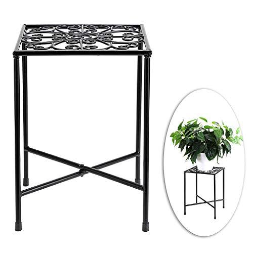 SUMNACON Pflanzenständer aus Metall für den Innen- und Außenbereich (Pflanze nicht im Lieferumfang enthalten).