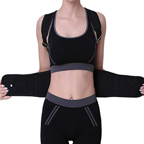 Comfortabele houding Corrector elastische schouder ondersteuning rug vest riem houding correcties