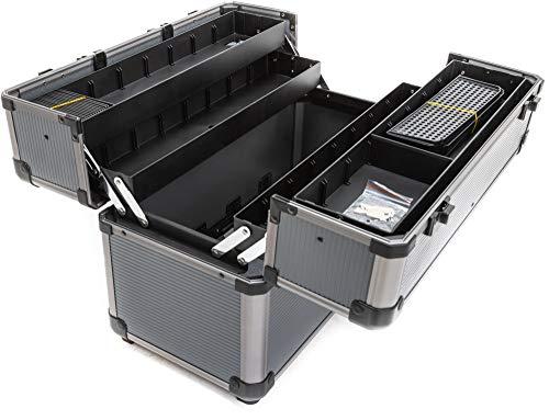 TrendLine Werkzeugkoffer Alu Werkzeugbox leer Werkzeugkasten