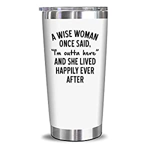 HAPPILY EMBRACE RETIREMENT - Retiring does not mean living a dull life. This wine tumbler reminds you that retirement gives you the chance to do anything you want without worrying about work. FUN DESIGN - The witty design of this tumbler is a plus. A...
