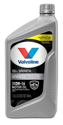 Valvoline Advanced Full Synthetic Motor Oil