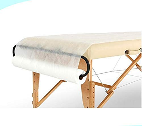 Spa Supply Jumbo Size Nonwoven Disposable Bedsheet Perforated Massage Table Sheet, Facial, Wax Chair Cover Sheet(31' Wide X 354 Feet Long)