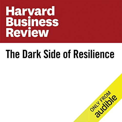 The Dark Side of Resilience copertina