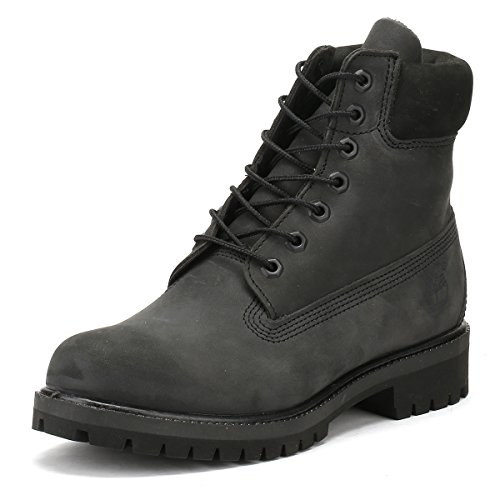 Timberland Mens Forged Iron Grey 6 Inch Premium Boots-UK 12.5