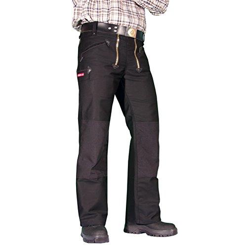 OYSTER Zwirn-Doppelpilot Zunft-Hose Arbeits-Hose - 50231 - schwarz - Größe: 48