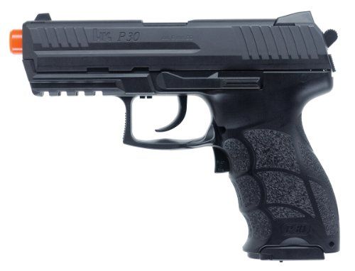 Elite Force HK Heckler & Koch P30 Electric Blowback 6mm BB Pistol Airsoft Gun, Black