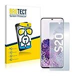 BROTECT Panzerglas Schutzfolie kompatibel mit Samsung Galaxy S20 - AirGlass, extrem Kratzfest, Anti-Fingerprint, Ultra-transparent