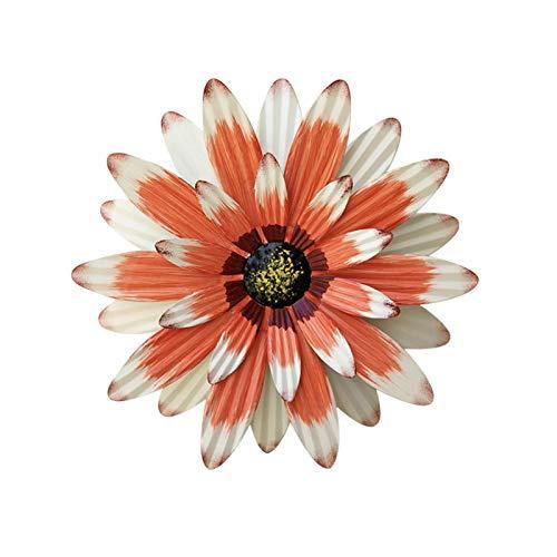 3D Innovative Schmiedeeisen Gänseblümchen Wandbehang Ornamente Handwerk Realistische Sonnenblume, Für Wohnzimmer, Schlafzimmer, Arbeitszimmer, Eingangshalle
