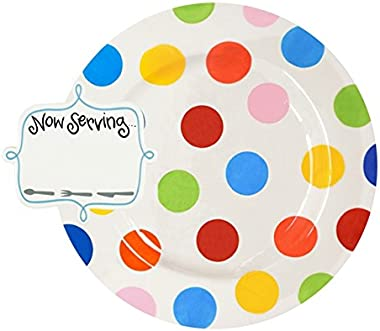 Coton Colors Happy Everything Big Entertaining Platter - Bright Dot