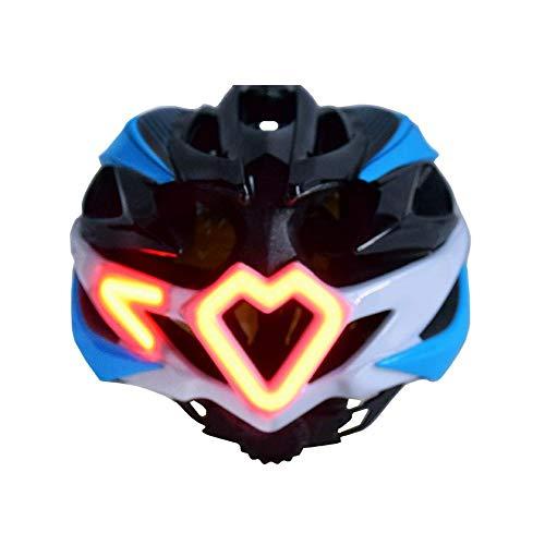 J.W. Smart Helm Fernbedienung Lenkhelm LED Beleuchteter Helm Fahrrad Fahrradhelm