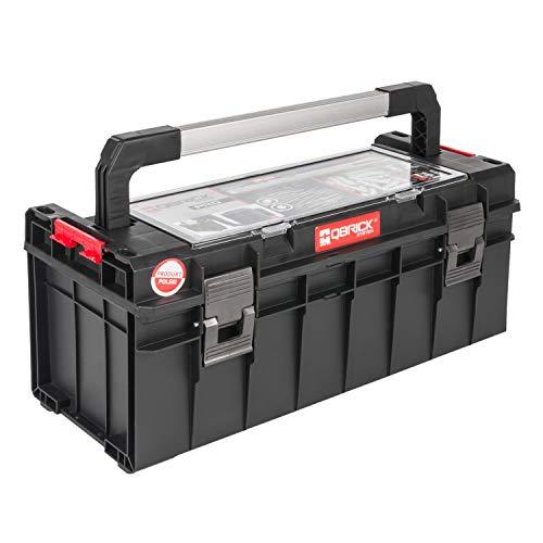 QBRICK Werkzeugbox SYSTEM PRO 600 B x T x H in cm: 54x27x24 cm Alleskönner - Privat & Gewerbe (Qbrick PRO600)