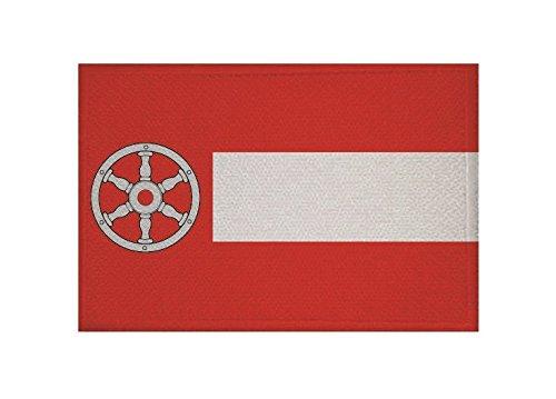 U24 Aufnäher Erfurt Fahne Flagge Aufbügler Patch 9 x 6 cm