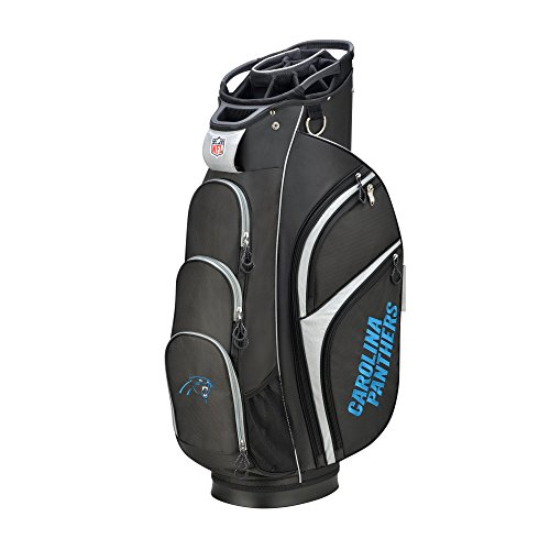 Buy Cheap Wilson 2018 NFL Golf Cart Bag, Carolina Panthers