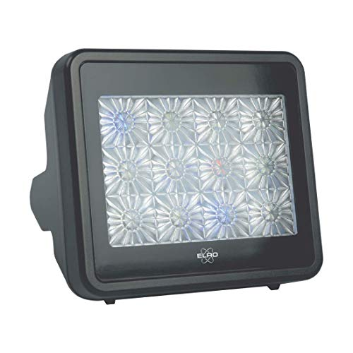 ELRO ADTV4 TV Simulator-Anti Einbruch und Diebstahl-Fernsehsimulator-mit LED-Beleuchtung-Inklusive Timer