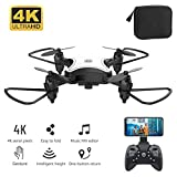 KY902 Mini Drone with Camera, 4K High-Definition Folding Remote Control Four-axis Aircraft