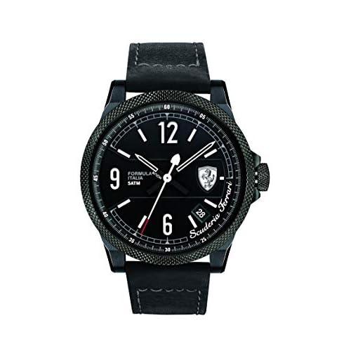 Scuderia Ferrari Watches 0830272 Men's Formula Italia Watch With White Accents