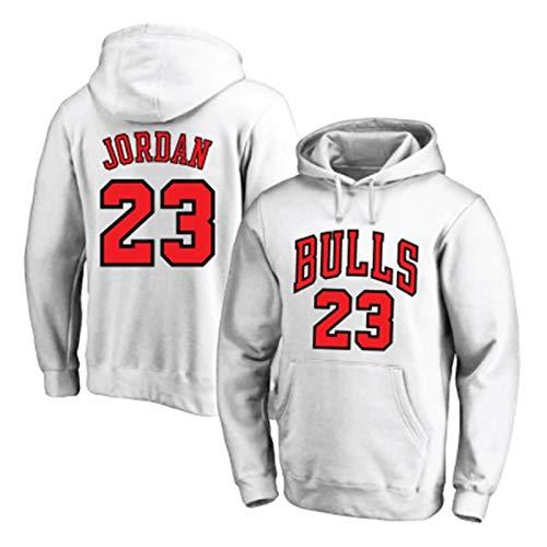 Zyf Sudadera con Capucha De Baloncesto Michael Jordan # 23 Pullo Flojo Hip-Hop Pullover Casual Y Cómodo Camiseta Entrenamiento De Manga Larga Baloncesto (Color : B, Size : XXL)