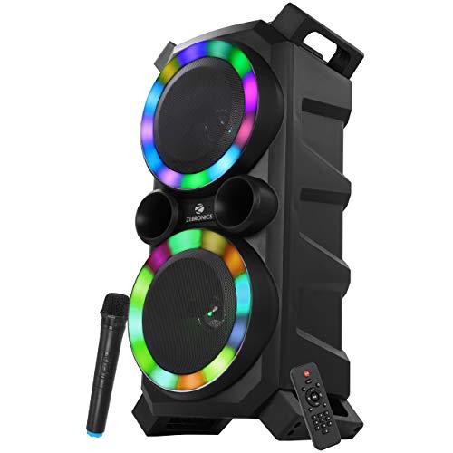 Zebronics Zeb-Moving Monster 2x7 Plus Bluetooth DJ Speaker with USB Input (Black)