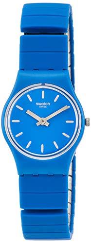Swatch Orologio Analogico Quarzo da Donna con Cinturino in Acciaio Inox LN155A
