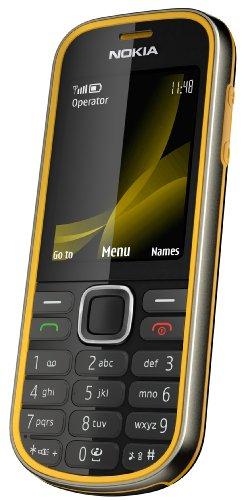 Nokia 3720 classic Handy (Outdoor, Bluetooth, E-Mail, Ovi, Kamera mit 2 MP) [EU-Version] yellow
