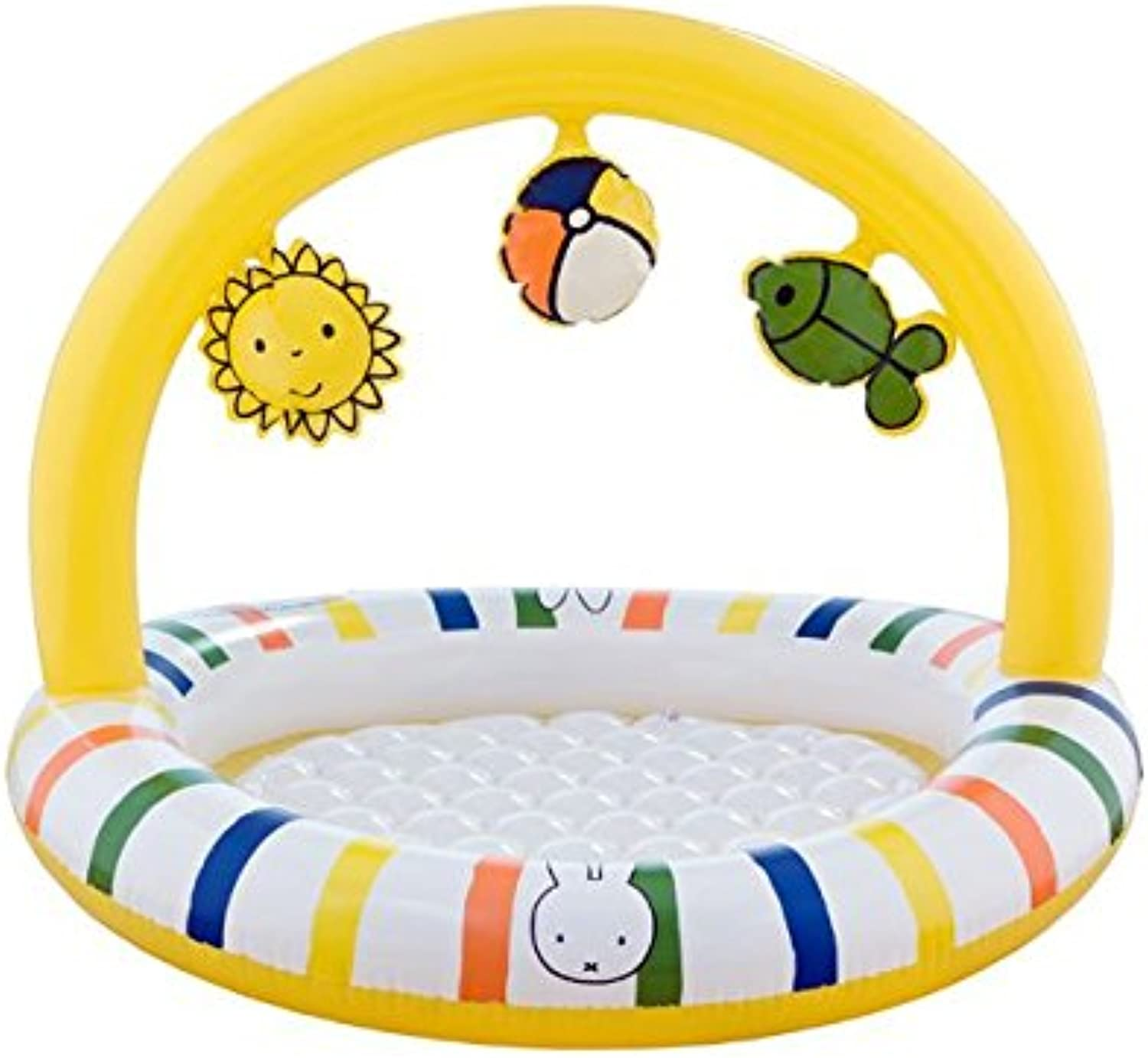 AK SPORT Miffy Swimming Pool with 3D Stripe