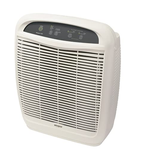 Whirlpool Whispure Air Purifier WP500 (New Version of AP51030K) 490 sq ft Filtration with True HEPA and Carbon Pre-Filter 8171434K,...