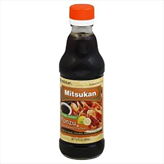 Mitsukan Sauce Soy Seasoned Ponzo 12 Oz Pack Of 6
