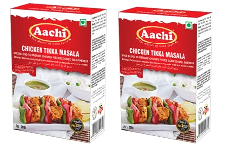 Miami Mall AACHI Chicken Tikka Direct stock discount Masala 200 GMS 2 - OF PACK -TWIN