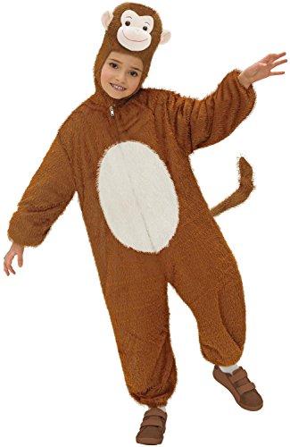 Widmann 9779d ? Costume de Singe Enfant, Combinaison avec Masque, Env. 134 cm