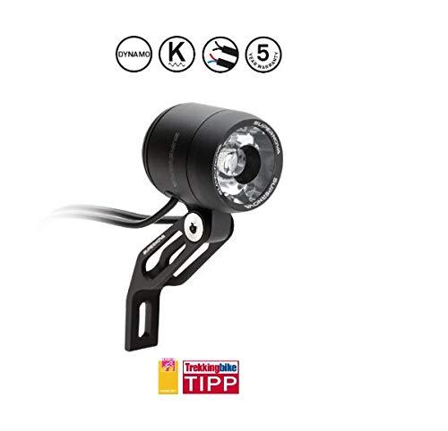KRS E3 Pure 3 - Supernova E3 E-Bike Frontleuchte - Aluminiumhalter Frontlicht Scheinwerfer Dynamo 6Volt AC
