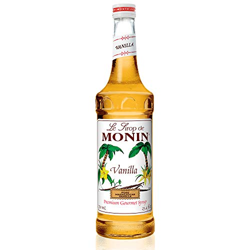 Monin - Vanilla Syrup, Versatile Flavor,...