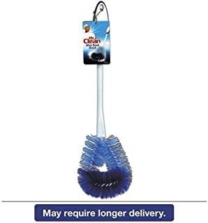 Mr. Clean Twisted Wire Toilet Bowl Brush, Plastic Handle, White 1 Each