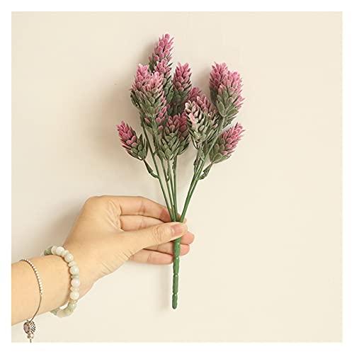 WANGJBH Trockenblumen 1 Stück Bundle Kiefern-Simulation Ananas-Gras Künstliche Pflanzen DIY.Home Vasen für Dekoration Gefälschte Kunststoff Blume Pompon Künstliche Blume (Color : 4)