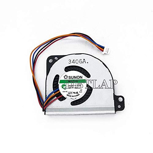 DBTLAP CPU Ventilador Fit compatibles para Toshiba Portege Z830 Z835 Z930 Z935 G61C0000J210 G61C0000Y110 enfriamiento Ventilador
