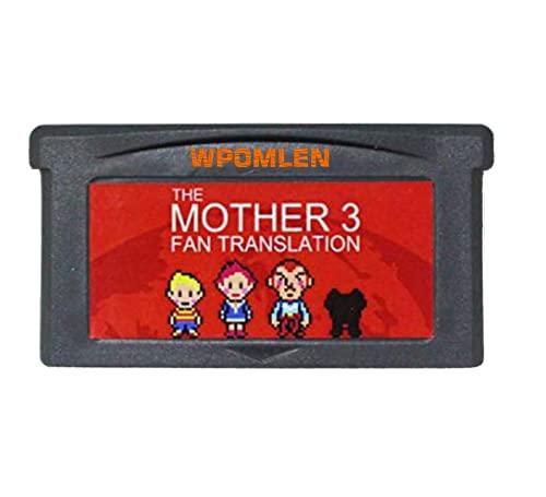 WPOMLEN Game Cartridge Card Compatible for GBA Gameboy Advance Mother 3 Fan Translation US Version