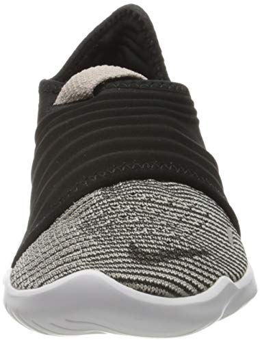 Nike Free RN Flyknit 3.0, Zapatilla de Correr Mujer, Tiza Ciruela Negra Dorada Metalizada, 41 EU