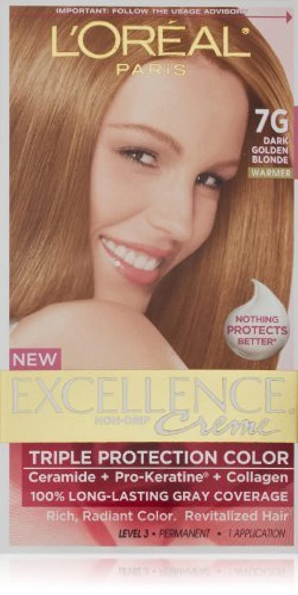 いくつかのまさに崇拝しますExcellence Dark Golden Blonde by L'Oreal Paris Hair Color [並行輸入品]