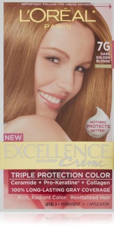 より良いセマフォ一晩Excellence Dark Golden Blonde by L'Oreal Paris Hair Color [並行輸入品]