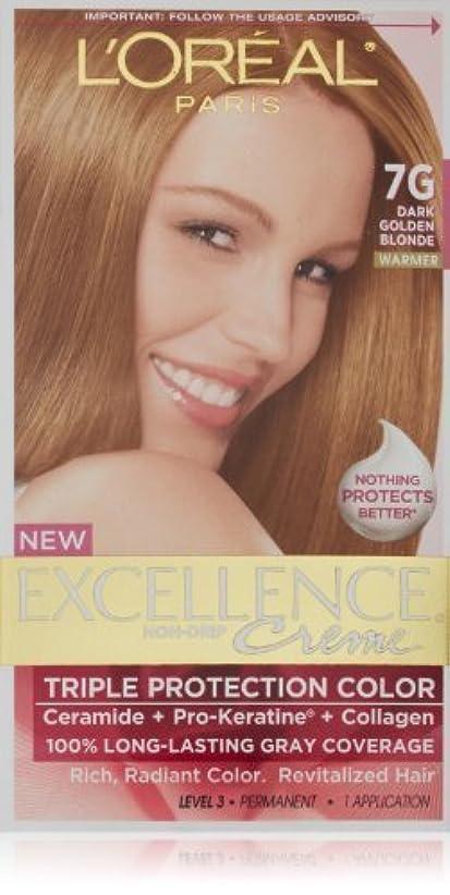 アシスタントライナー対話Excellence Dark Golden Blonde by L'Oreal Paris Hair Color [並行輸入品]
