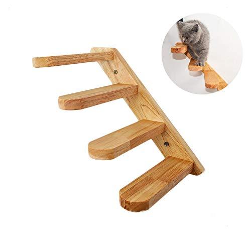 Kletterwand Katzen Holz Wandpark Handgefertigte Tiermöbel Spielmöbel, Haustiertreppe Schritt, Katzenkletter Leiter Wand Treppen Leite
