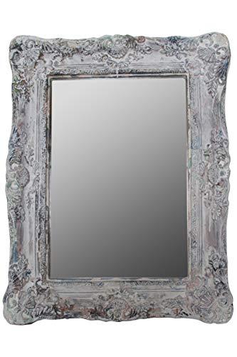elbmöbel Wandspiegel Tilda Vintage weiß 54x42x6 cm