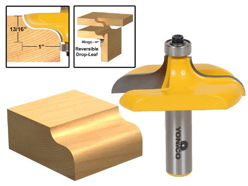 Yonico 13145 Traditional Table Edge Router Bit 1/2-Inch Shank