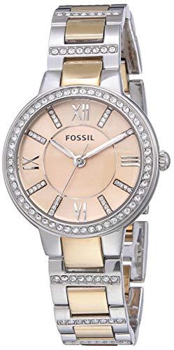 Fossil Femme Analogique Quartz Montre avec Bracelet en Acier Inoxydable ES3405