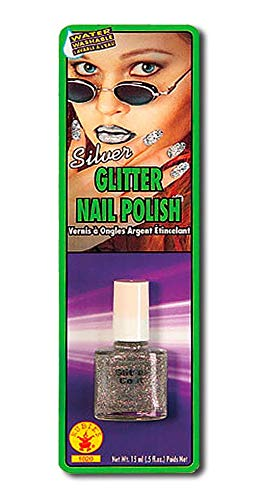 Glitter Nagellak Zilver