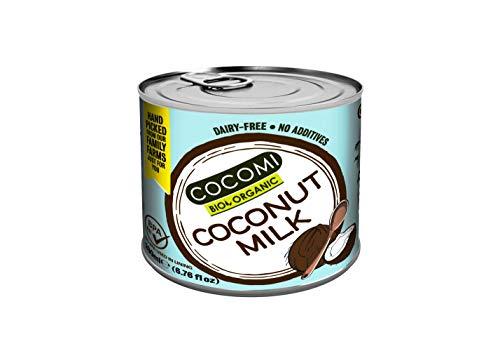 ココミ オーガニック ココナッツミルク 200ml 【増粘剤不使用】 ×12個