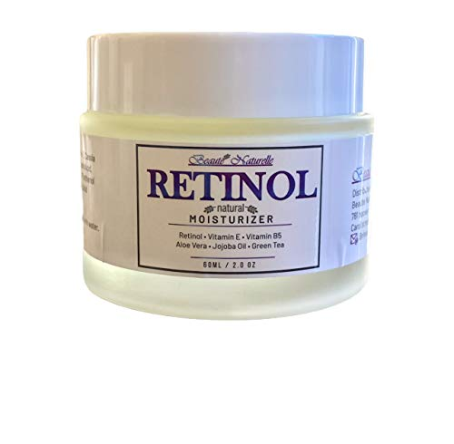 Retinol Cream & Anti Aging Cream- Natural moisturizer For Face, Neck & Décolleté with Retinol (Vitamin A), Aloe Vera and Vitamin E. Best Night & Day Anti Wrinkle Retinol Cream for Women and men- 2.0 Oz