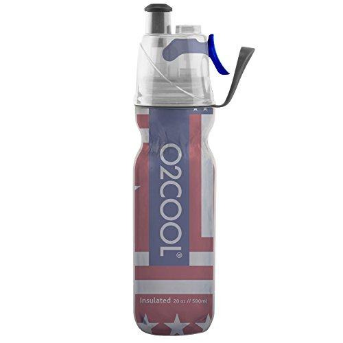 O2COOL ArcticSqueeze botella de 20 onzas oficial que se aprieta para tomar