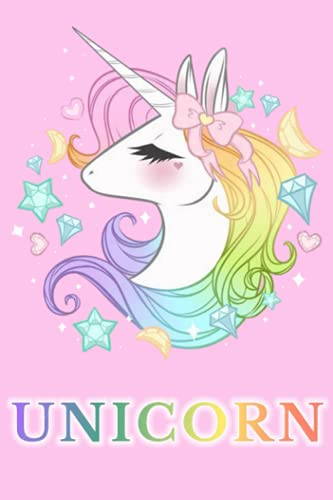 Unicorn Notebook: Unicorn Notebook Journal Gift,120 Lined Paper Book for Writing, Perfect Present for Fans, Notebook Diary 6 X 9 Inches