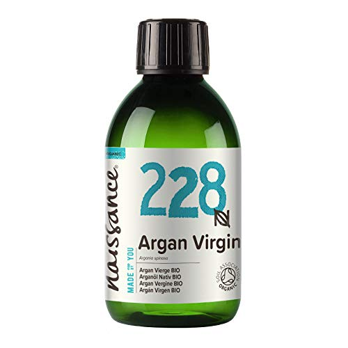 Naissance Organic Moroccan Argan Oil (no. 228) 250ml - Pure & Natural,...