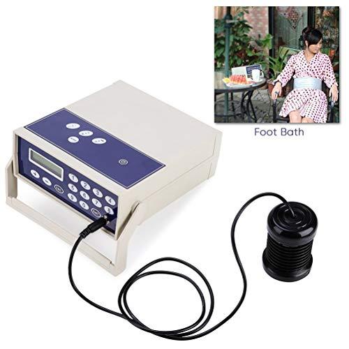 Detox Ionic Aqua Voetverzorging machine, voor het reinigen van pijn in de auto, voor het masseren van pijn en infrarood riem, koffer